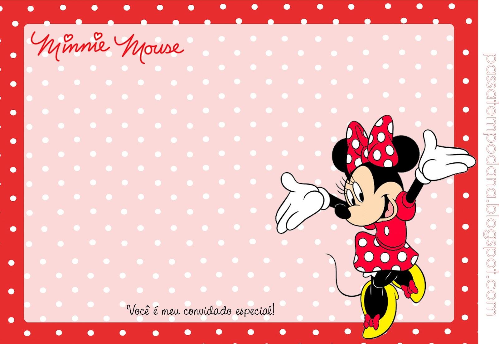 Passatempo Da Ana Kit Minnie Vermelho E Branco