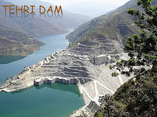 Highest Dam in India Tehri Dam