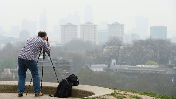 Londres sobrepasa límites anuales de contaminación del aire