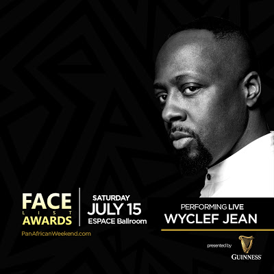 Wyclef Jean To Perform At The FACE List Awards In NYC