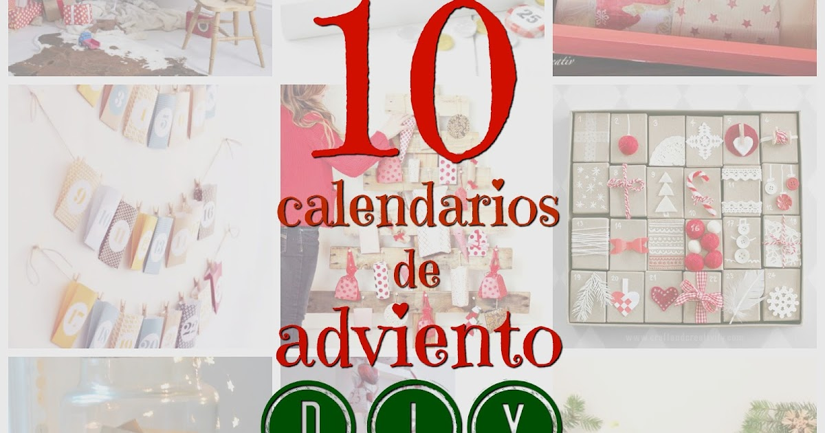 Pequefelicidad 10 calendarios de adviento diy for Calendario de adviento casero