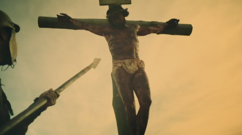 crucified jesus images