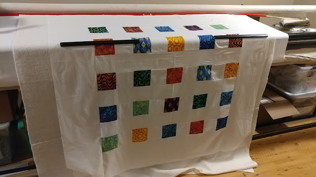 "Only 25 charm squares can make a 60"" square throw quilt!"