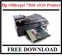 Hp Officejet 7500 e910 Driver Printer