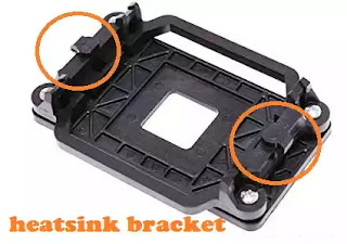 Bracket Blower Processor PC