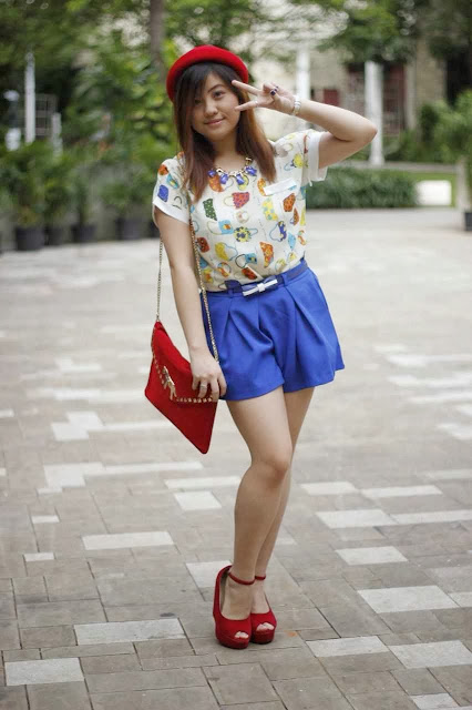 Colorful day with Colorful outfit