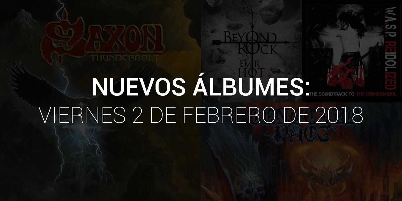Los 4 nuevos álbumes que necesitas escuchar esta semana (2 de febrero)