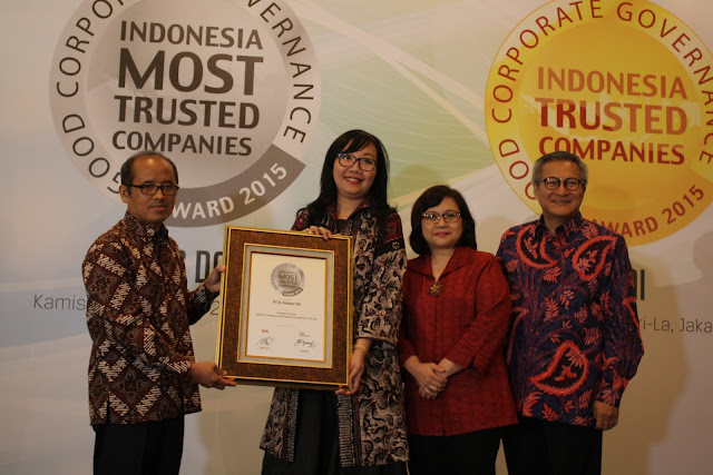 "XL Raih Penghargaan ""Indonesia Most Trusted Company"""