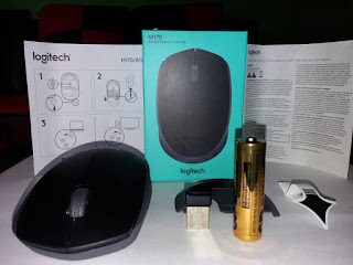 Review Logitech M170, Mouse Wireless terbaik 100 Ribuan