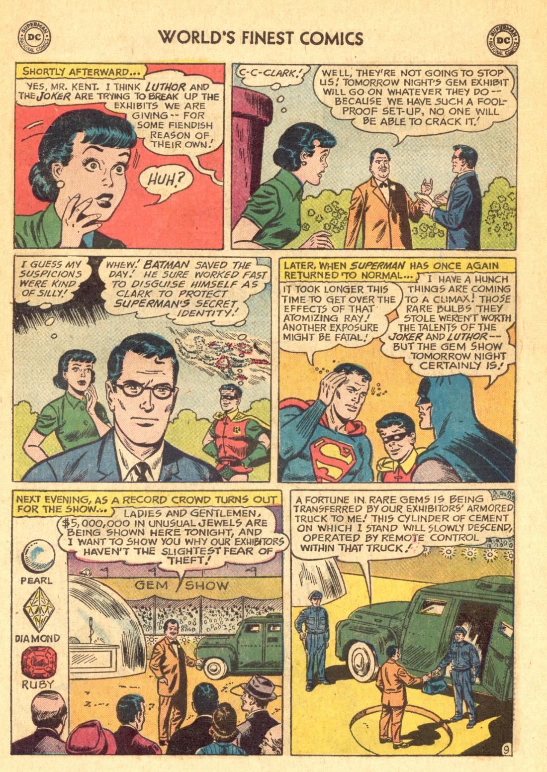 Read online World's Finest Comics comic -  Issue #129 - 11