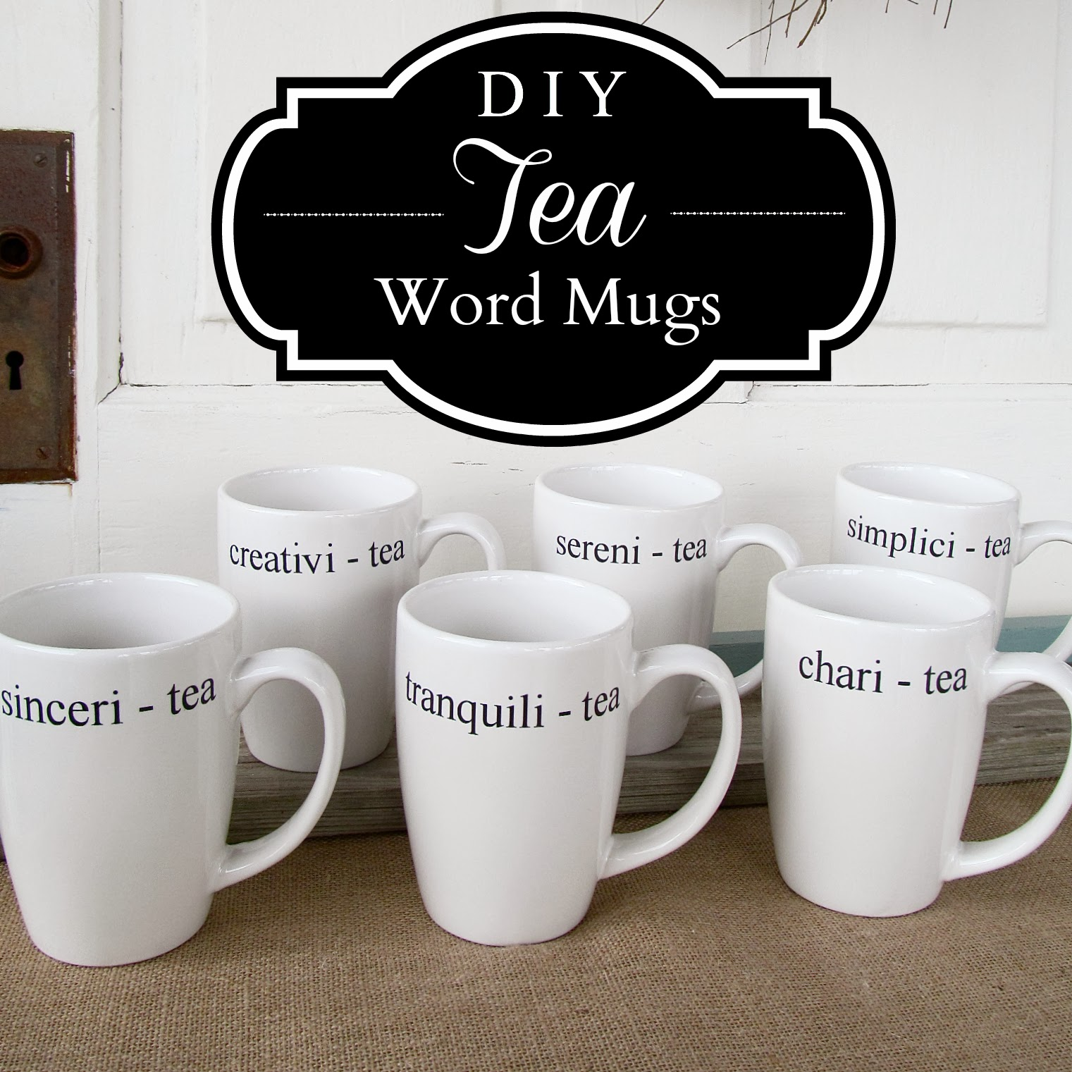 Inexpensive Mugs Diy Tea Mugs An Inexpensive Gift For Tea Lovers Hymns