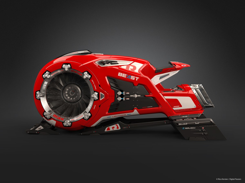 The concept jet bike