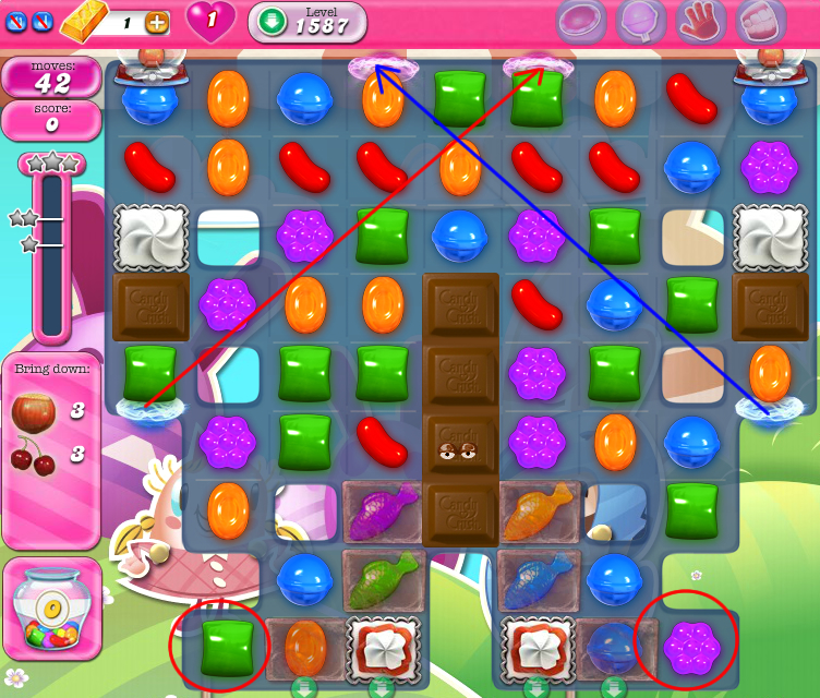Candy Crush Saga 1587