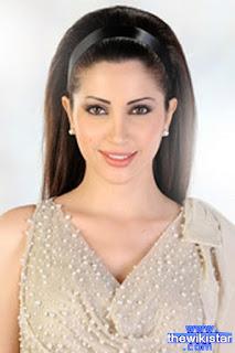 نسرين طافش (Nisrine Tafech)، ممثلة سورية