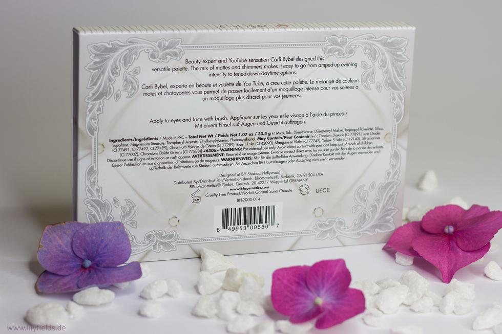 Carli Bybel Palette, BH Cosmetics
