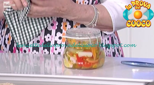 Giardiniera ricetta Moroni da Prova del Cuoco