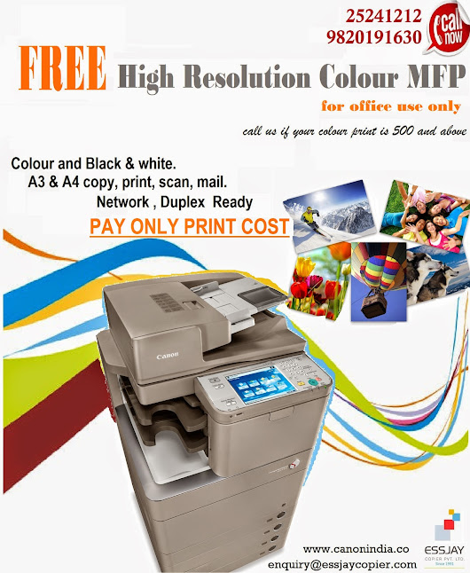 Colour Printer On Rent