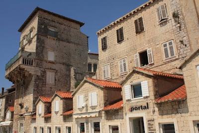 Saint Nicholas fortress in Trogir