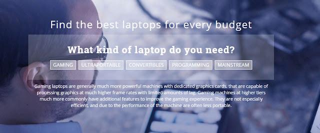 Temukan Laptop yang Sesuai Harga dan Kebutuhanmu Disini