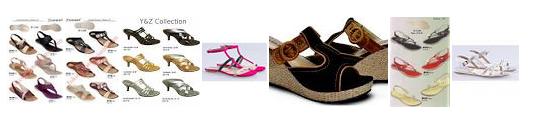Sandal wanita branded import murah terbaru 2014,sandal wanita wedges, sandal, wanita carvil