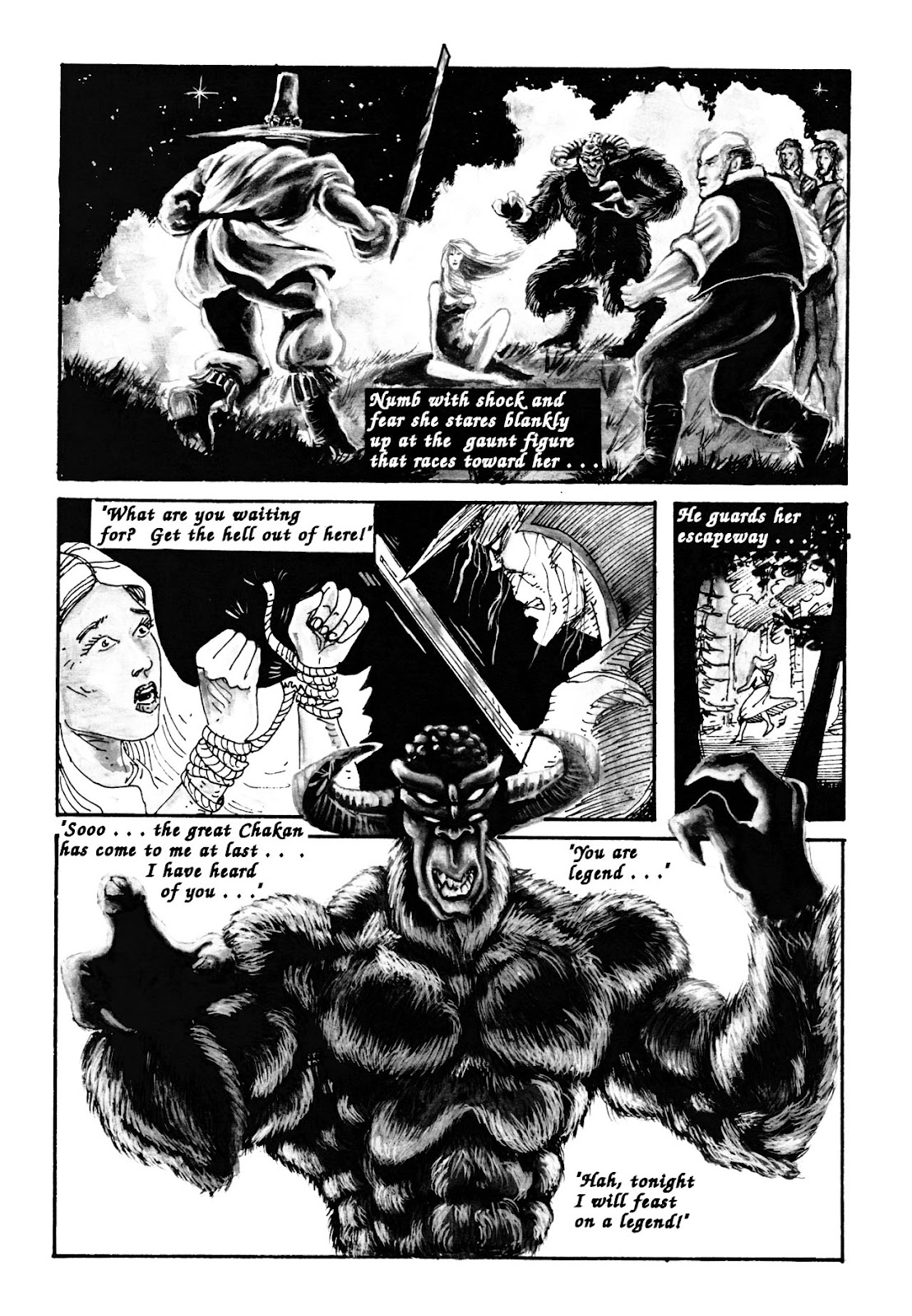 Chakan the Forever Man Issue #1 - Read Chakan the Forever Man Issue