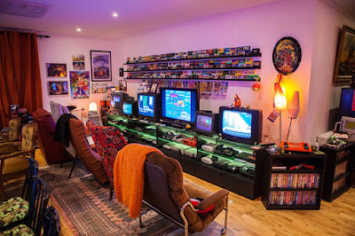 La Retro Gaming Room de Heidi