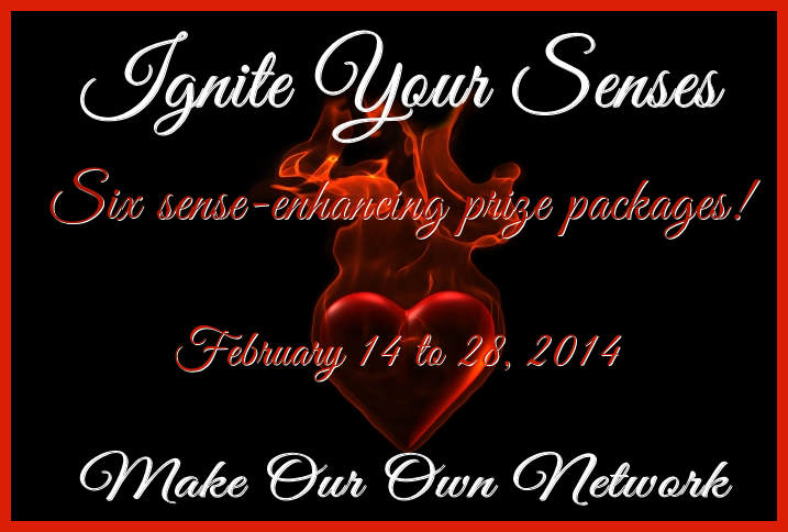 Enter each of the Ignite Your Senses six giveaways. All ending 2/28. Over $2,500 in prizes.