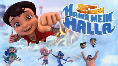 Super Bheem Hawa Mein Halla (2017) Full Movie Download BluRay