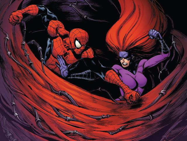 medusa vs spiderman