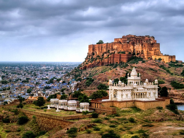 Mehrangarh Fort, Jodhpur  IMAGES, GIF, ANIMATED GIF, WALLPAPER, STICKER FOR WHATSAPP & FACEBOOK