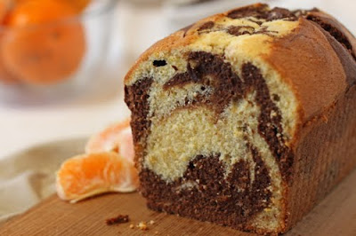 Cake Or Death Twd Chocolate Orange Marbled Loaf Cake