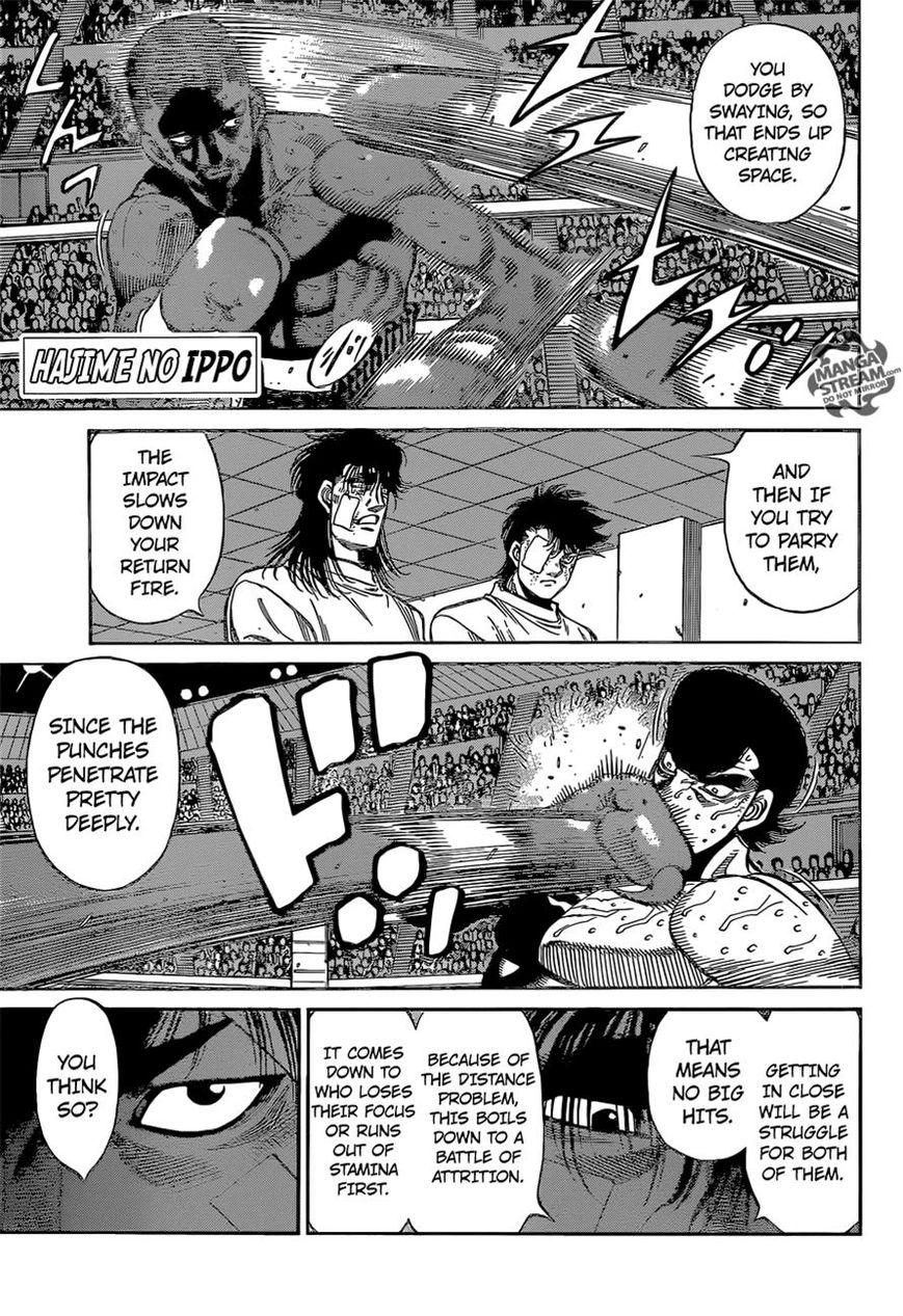 Hajime no Ippo - Chapter 1104