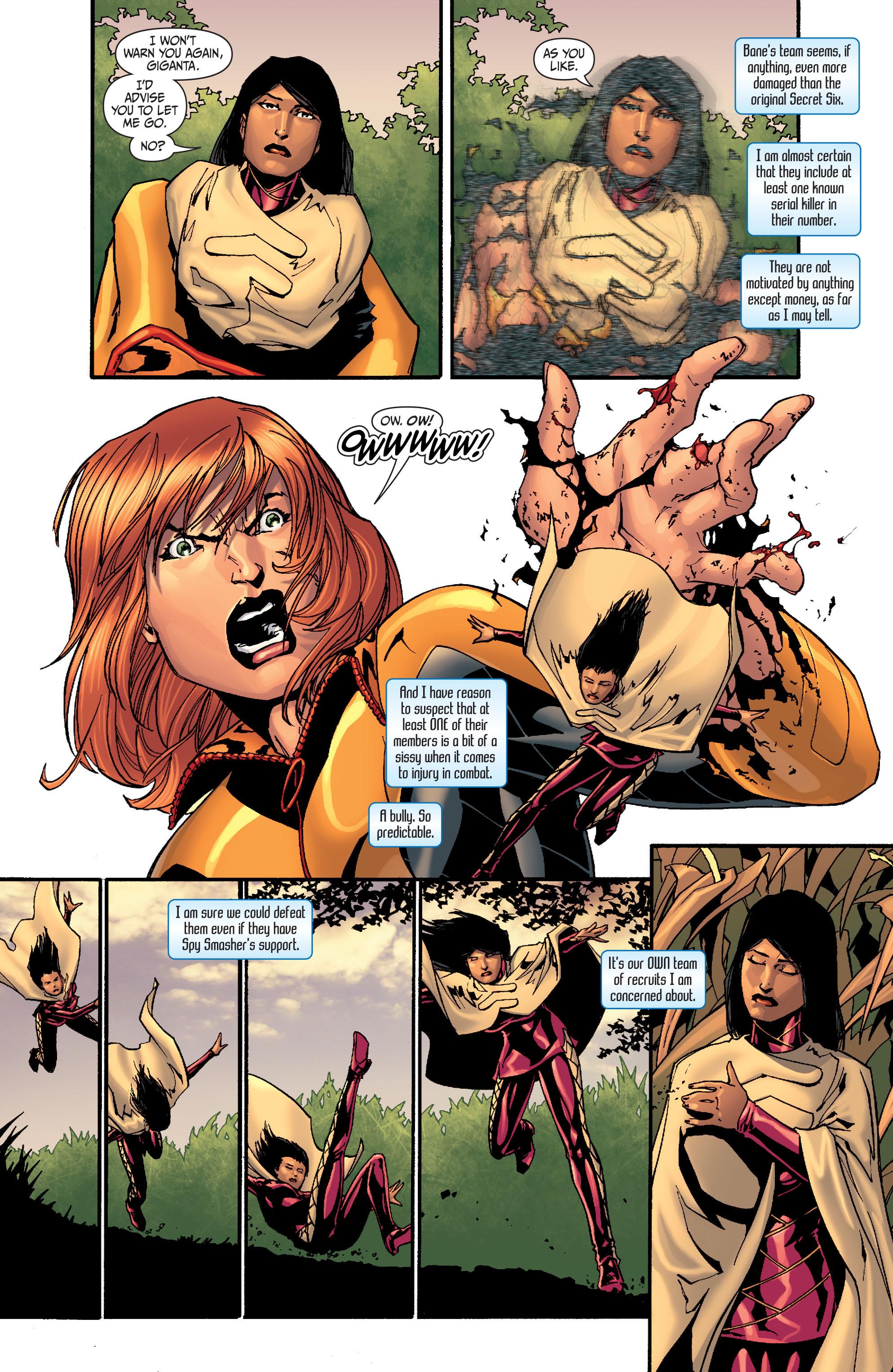 Read online Secret Six (2008) comic -  Issue #27 - 3