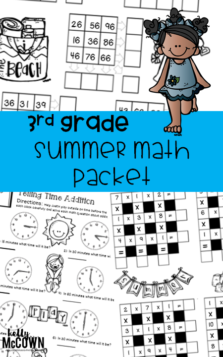 Kelly McCown: 3rd Grade Summer Math Review