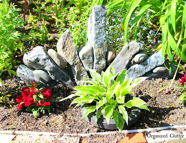 Decorative Rock Formations For the Garden www.organizedclutter.net