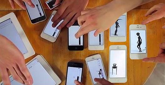 Smartphone videoclip