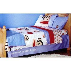 Julius Friends Monkey Twin Size Comforter Kids Paul Frank Bedding
