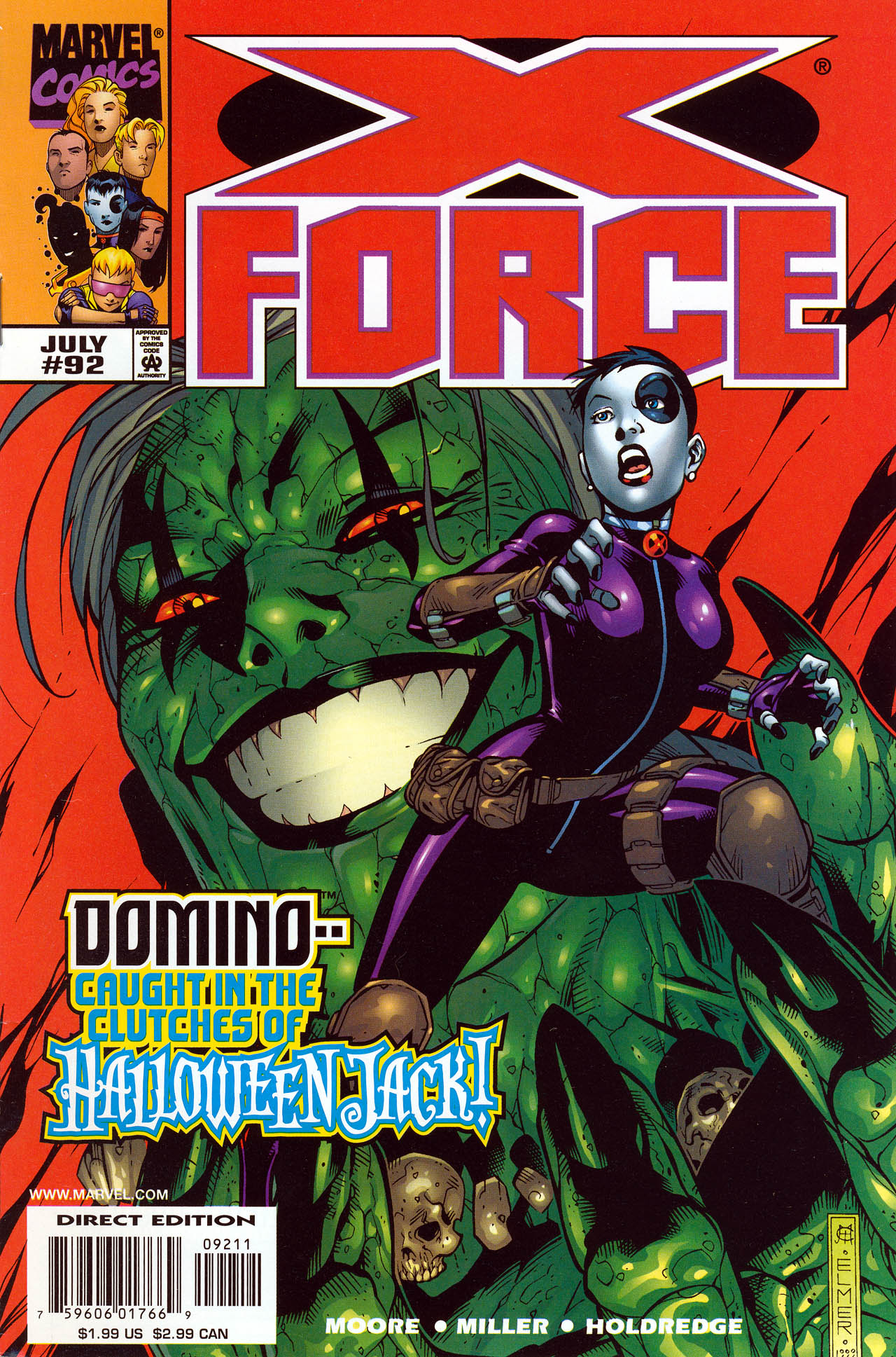 Read online X-Force (1991) comic -  Issue #92 - 1