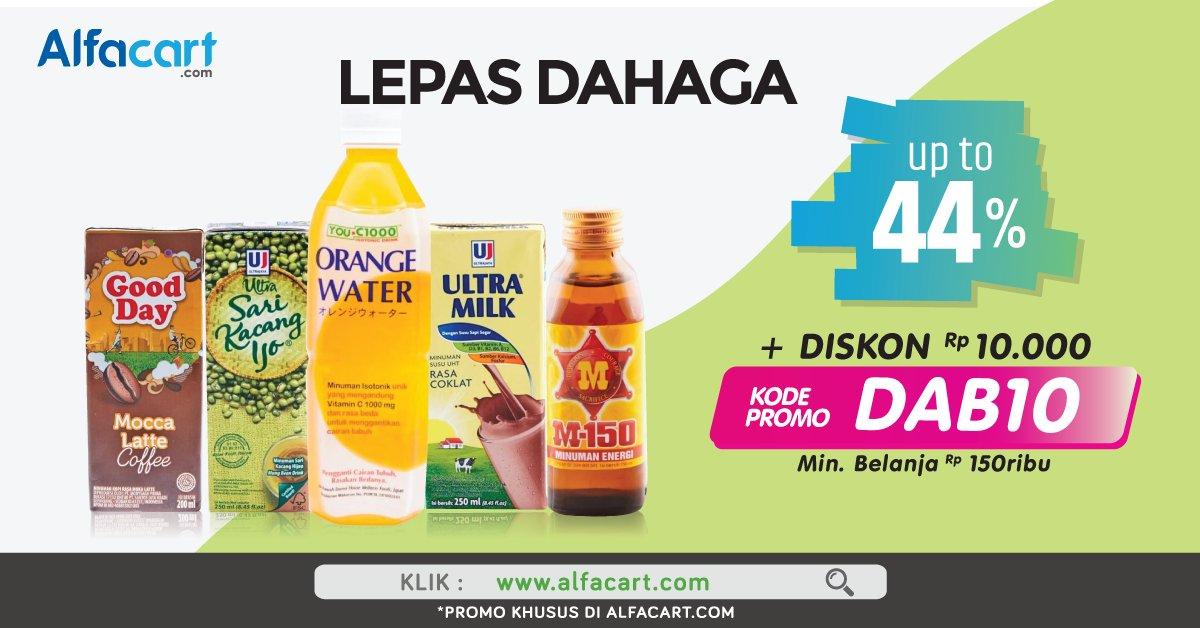Alfamart - Promo Potongan Langsung + Voucher Diskon s.d 40% (s.d 30 Sept 2018)