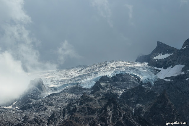 la grave - la meije, hautes alpes, glacier, alpinisme, alpes de haute provence