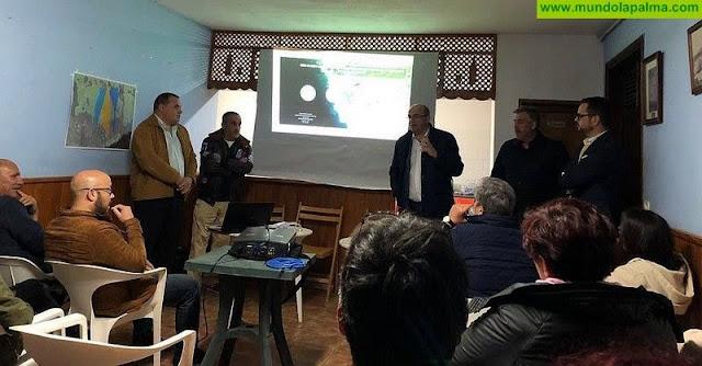 El Cabildo da a conocer los trabajos que solventarán las escorrentías en la carretera de El Remo