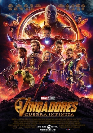 Vingadores 3 - Guerra Infinita Torrent 2018 Dublado 1080p 720p Bluray Full HD Webdl