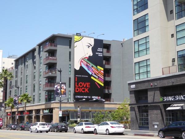 I Love Dick TV series billboard
