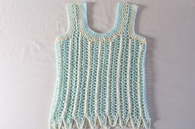 tutorial, how to, free pattern, crochet, tank top, blouse, shirt, easy, lace, beginners