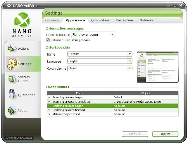 Nano antivirus Free Download