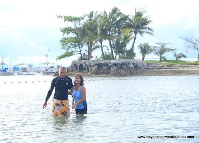 Bluewater Maribago lagoon beach