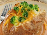 Resep Kentang Panggang Keju Brokoli Masakan Ibu Hamil