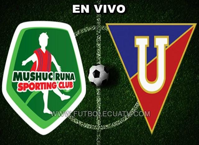 Mushuc Runa y Liga de Quito se enfrentan en vivo a partir de las 14h00 horario de nuestro país a realizarse en el Estadio Bellavista de Ambato continuando la fecha once del campeonato ecuatoriano, siendo el árbitro principal Daniel Salazar con emisión del canal oficial GolTV.