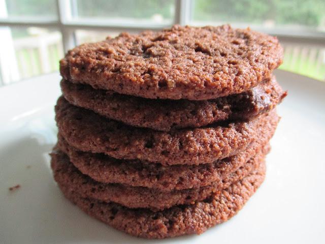 Almond Flour Chocolate-Chocolate Chip Cookies