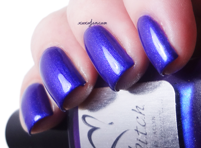 xoxoJen's swatch of b.i.t.c.h. by jaclyn Bold